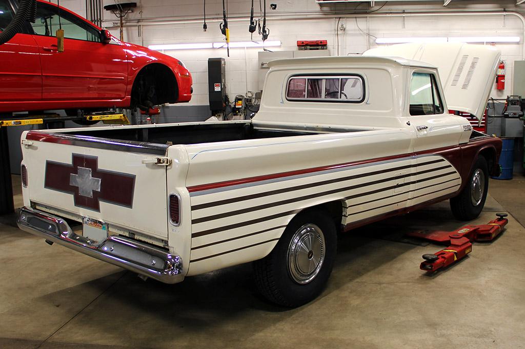 65 Chevy C20 Camper